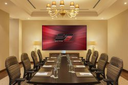 Aeon CLR® Series, fixed frame projector screen