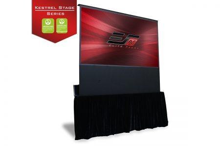 Kestrel Stage, Portable projector screen