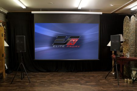 Saker Series, Motorized projector screen