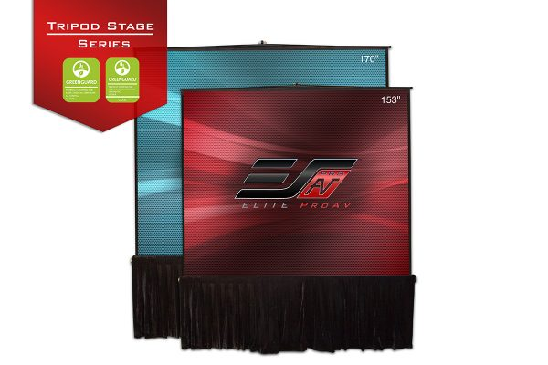 Tripod Stage Series, Portable projector screen