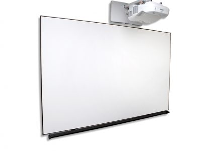 WhiteBoardScreen™ Thin Edge Series, Whiteboard projector screen