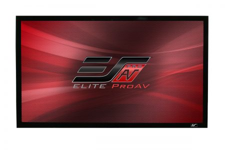 ezFrame Plus Series, fixed frame projector screen
