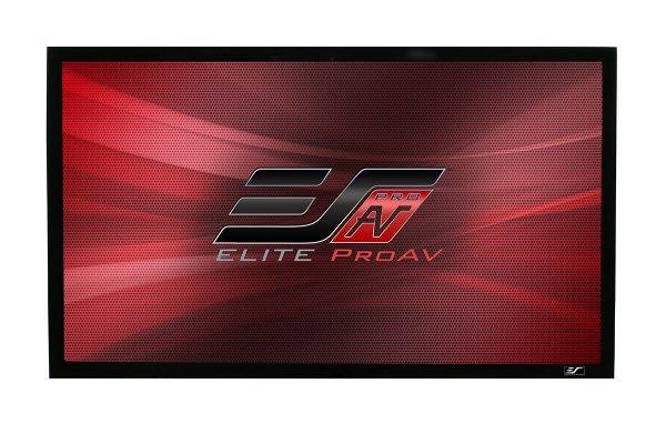 ezFrame Plus Series, fixed frame projector screen