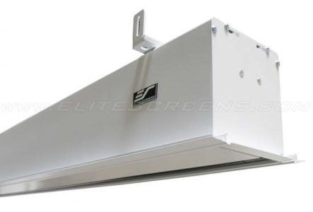 Evanesce Plus Series, In-ceiling motorized projector screen