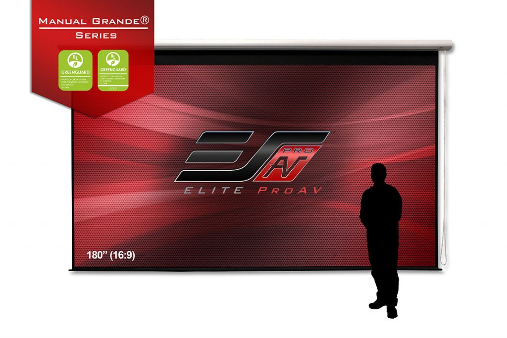 Manual Grande® Series,, Large projector screens