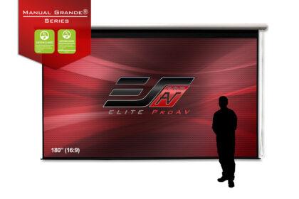 Manual Grande® Series,, Large projector screens