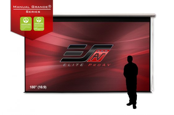 Elite's Latest Video Describes its Manual Grande® Large Venue Projector Screen