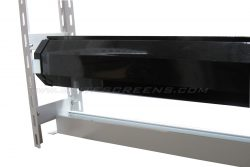 CineTension 2 Ceiling Trim Kit, Motorized projector screen