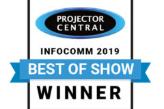 Award: Projectorcentral.com InfoComm 2019 Best of Show
