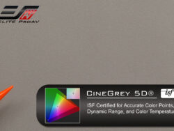 CineGrey 5D®, Projector screen material