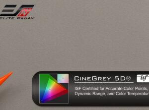 CineGrey 5D®, Projector screen material