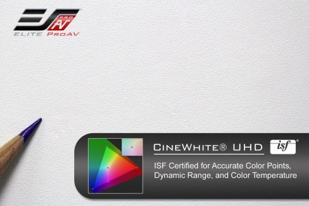 CineWhite® UHD, Projector screen material
