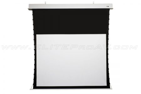 Evanesce Tab-Tension Series, Motorized projector screen, Large projector screens