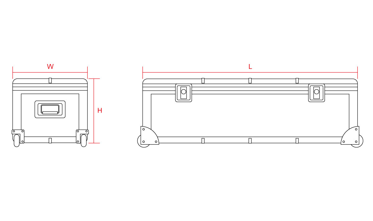 Yard Master Pro Case Line Drawing