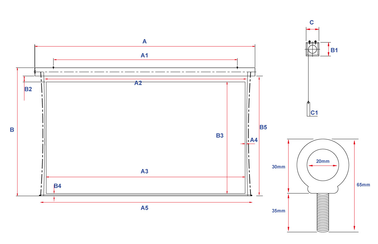 Tension Pro 300 Line Drawing
