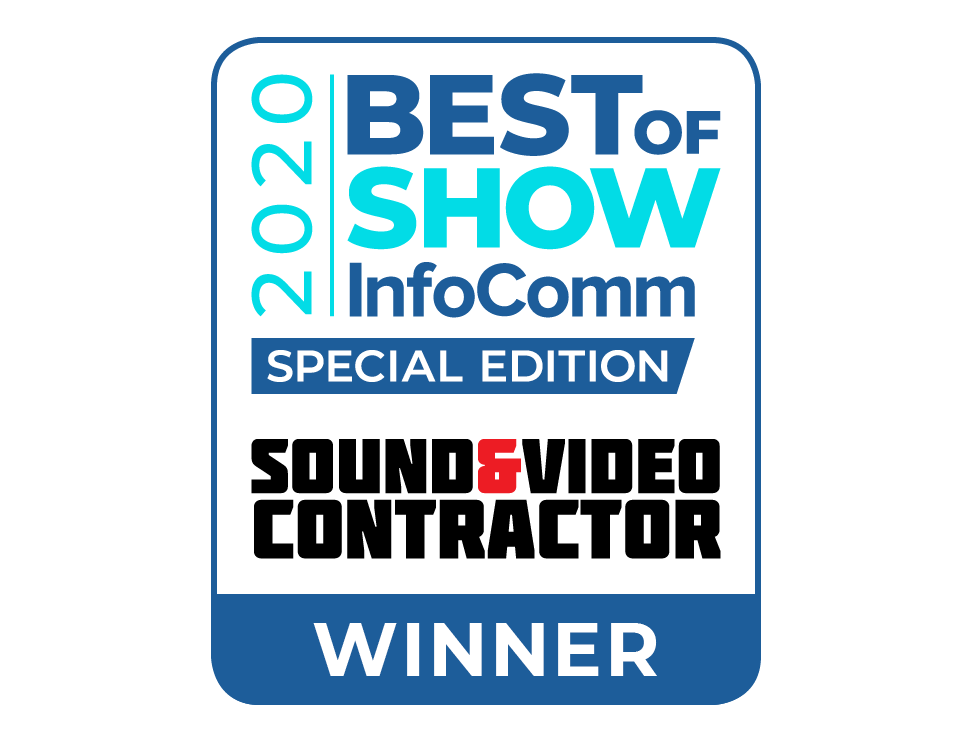 The Tripod Tab-Tension Pro CineGrey 5D® Wins the InfoComm Best of Show Special Edition Award