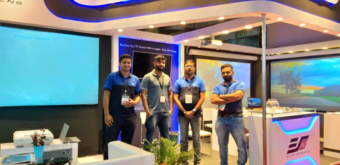Elite Screens India Pvt Ltd. Demonstrated its Commercial Line at InfoComm India 2019 in Mumbai