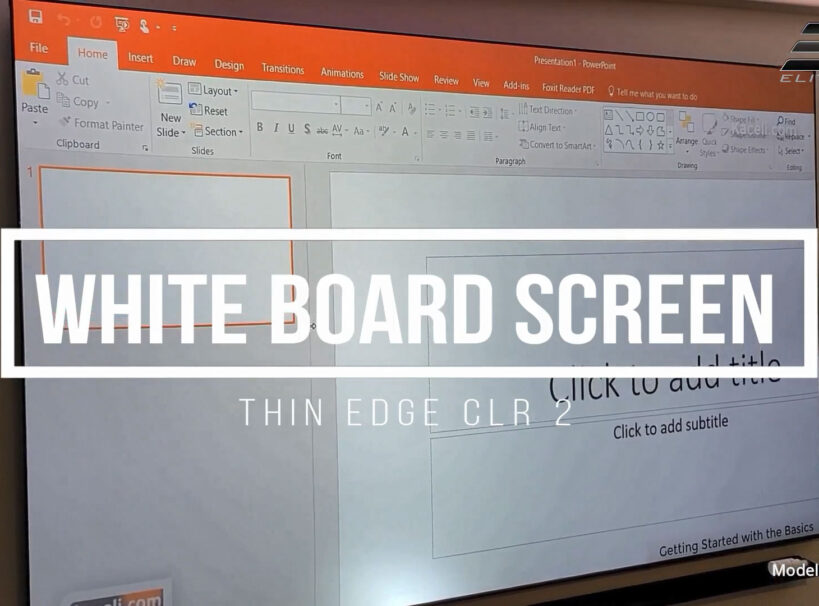Joelster Reviews the WhiteBoardScreen Thin Edge CLR® 2