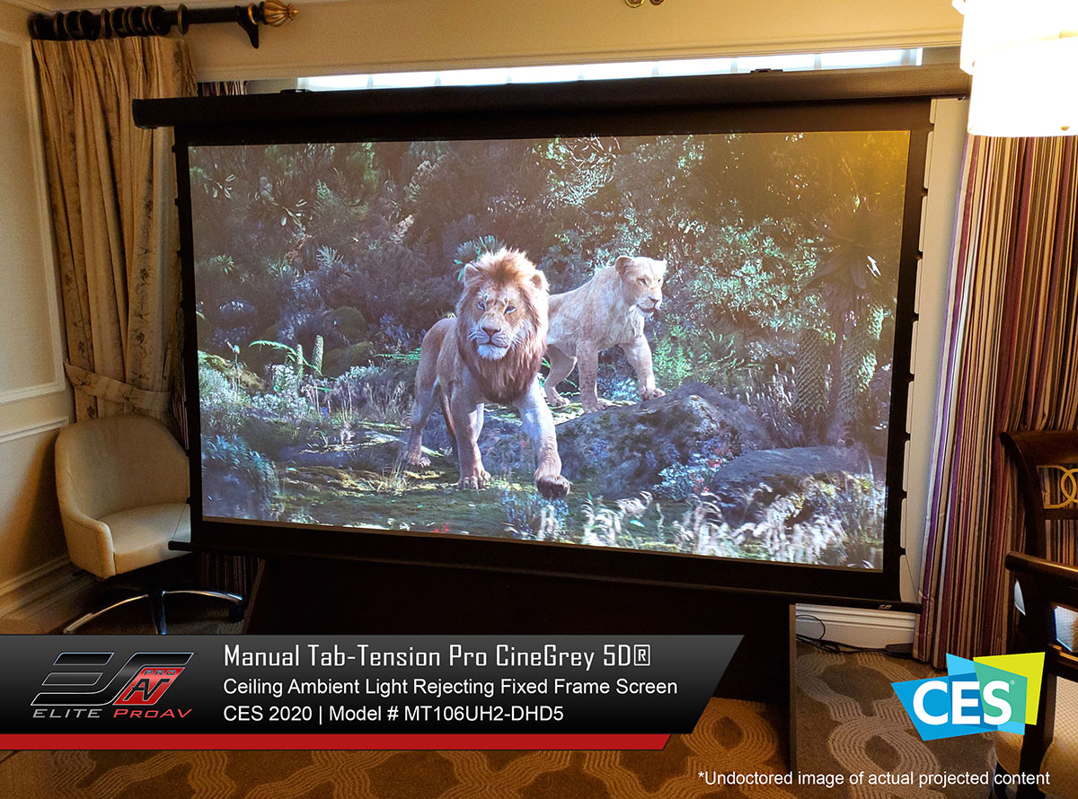 Manual Tab-Tension Pro CineGrey 5D® at CES 2020