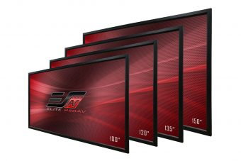 Elite ProAV® Introduces the Pro Frame Projection Screen for Low-Maintenance Commercial Applications