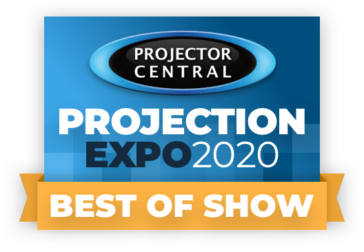 Projection Expo 2020 Best of Show Award Goes to The Tripod Tab-Tension Pro CineGrey 5D®