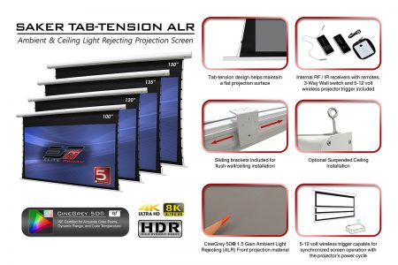 Saker Tab-Tension ALR Series