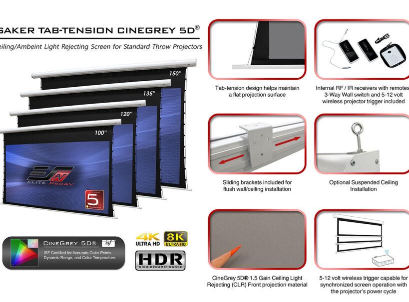 Saker Tab-Tension CineGrey 5D® Series