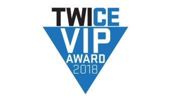 """Saker Tab-Tension """"Roll-Up"""" Ceiling & Ambient Light Rejecting (ALR/CLR®) Screen Wins 2018 Twice VIP Award"""