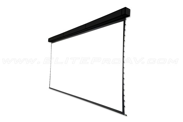 "Tension Pro Series 300"" Diagonal Model, Motorized projector screen, Large projector screens"