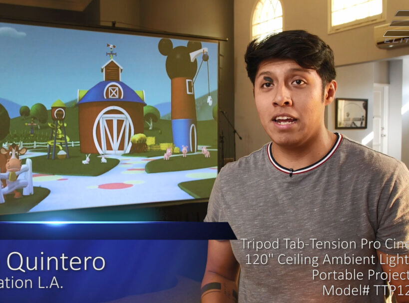 Tripod Tab-Tension Pro CineGrey 5D® - Restoration LA Testimonial