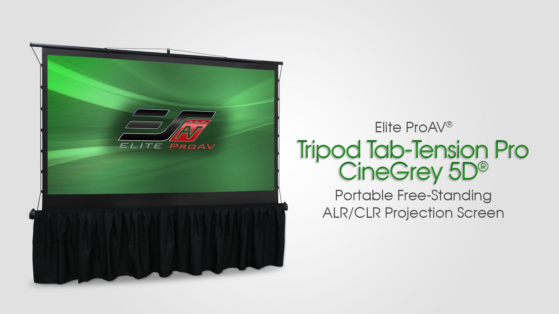 Tripod Tab-Tension Pro CineGrey 5D® Product Video