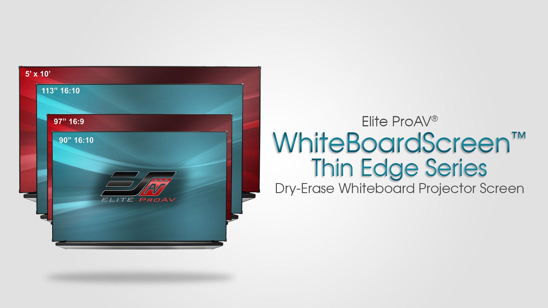 WhiteBoardScreen™ Thin Edge Series Product Video