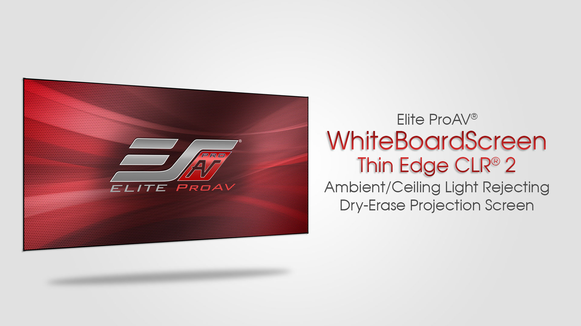 WhiteBoardScreen™ Thin Edge CLR® 2 Product Video