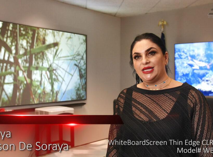 WhiteBoardScreen™ Thin Edge CLR® 2 Testimonial Video