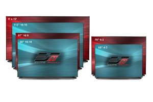 WhiteBoardScreen Thin Edge Series
