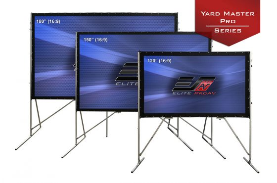 Yard Master Pro Series- Portable Folding-Frame Screen