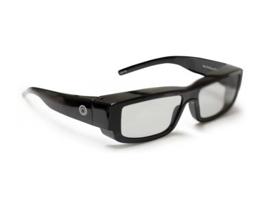 AFlex5D glasses, passive 3D , digital multi-projector stacking system
